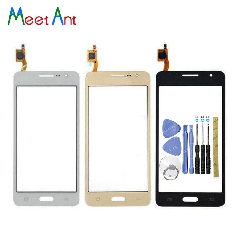 5.0 pour Samsung Galaxy Grand Prime Duos G530 G530H G530F G5308 G531 G531H G531F capteur écran tactile numériseur panneau avant en verre