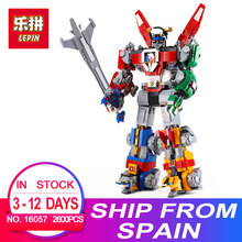 New Lepin 16057 2600pcs idea serise Voltron Defender Of The Universe Building Blocks Bricks LegoINGlys 21311 DIY Toys Gifts