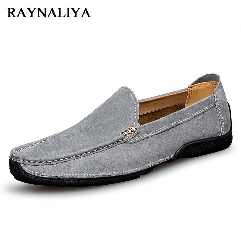 2018 Summer Casual Shoes Men Breathable Leather Fashion Slip On Driving Shoes Comfortable Soft Hand Made Men Loafers LB-B0024 klywoo breathable men s casual leather boat shoes slip on penny loafers moccasin fashion casual shoes mens loafer driving shoes