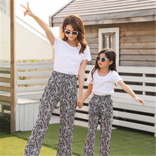 цены на Mommy and me family matching mother daughter dresses clothes striped mom and daughter dress kids parent child outfits  в интернет-магазинах