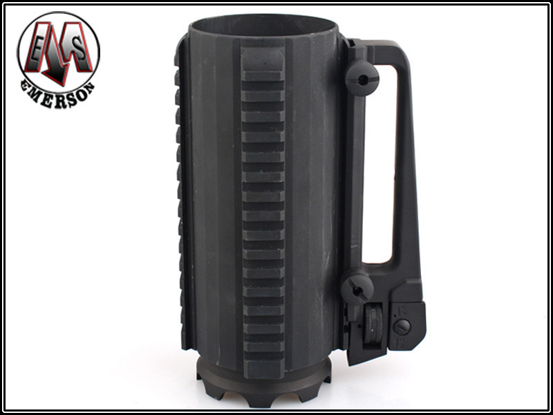 Emerson Airsoft Tactical Multifunctional Mug Outdoor Hunting Shooting Combat Military Useful Cool Bottle w Rail Hunting
