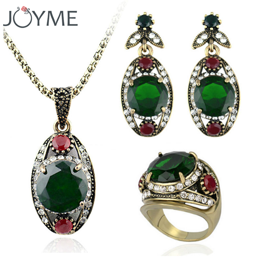 Joyme Brand AAA+New Fashion Green Austria Crystal