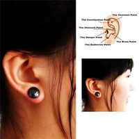 Unisex Health Care Magnet Earring Ear Stud Slimming Healthy Stimulating Ear Clip
