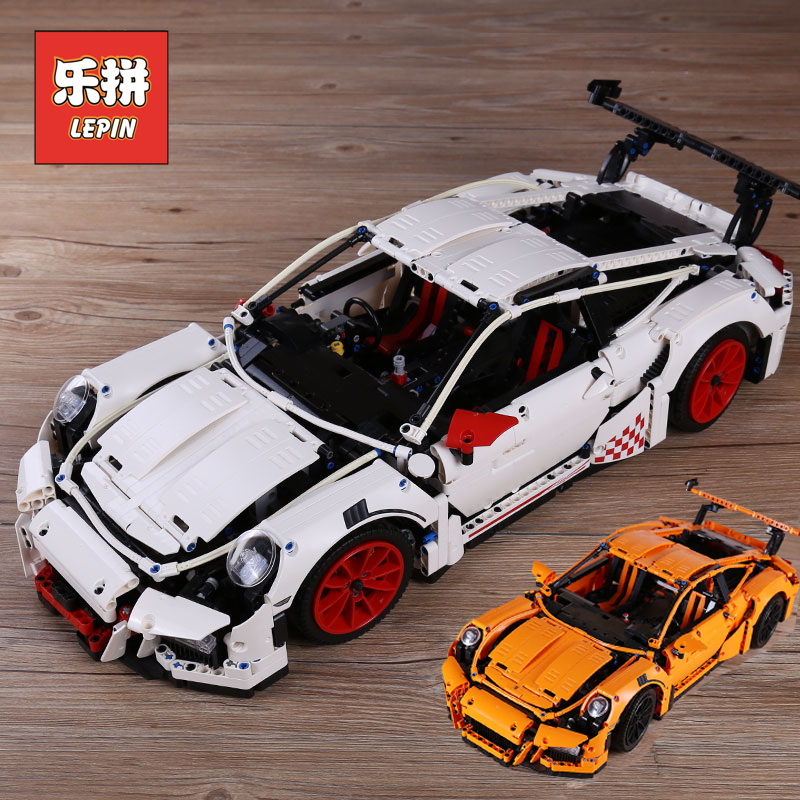 Lepin 20001 20001B the Race Car Model Set Building Blocks Bricks Kits Toy Legoinglys Technic Compatible 42056 Children DIY Gift