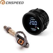 CNSPEED 52 мм Автомобильный измеритель соотношения воздуха/топлива цифровой узкий диапазон O2 задний датчик кислорода для 03-10 hyundai Kia 2.0L
