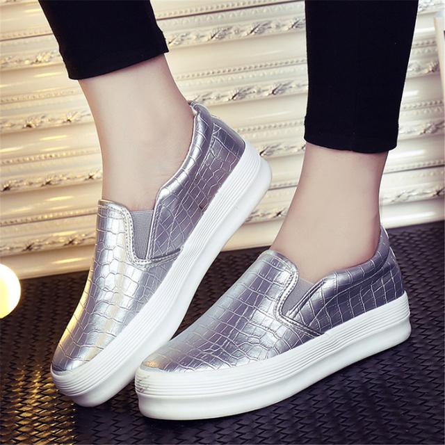A nova moda outono sapatos de conforto das mulheres do muffin Didan feminino respirável sandálias sapatos casuais