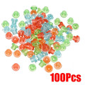 100PCS Clear Colors Rubber Grommets Nipples Tattoo Accessories Needles Supplies