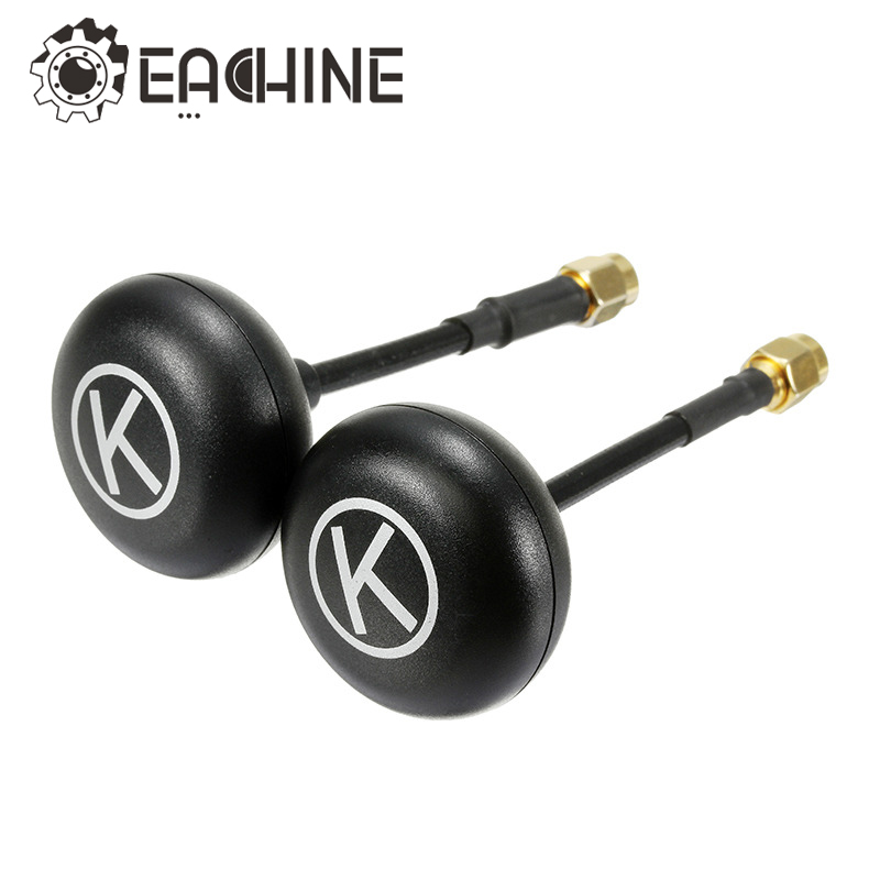 New Arrival Eachine K-Loverleaves 5.8G 5dBi 6 Leaf Clover SMA RP-SMA Mushroom Antenna For FPV Transmitter RC Models eachine racer 250 drone spare part mushroom antenna rp sma male