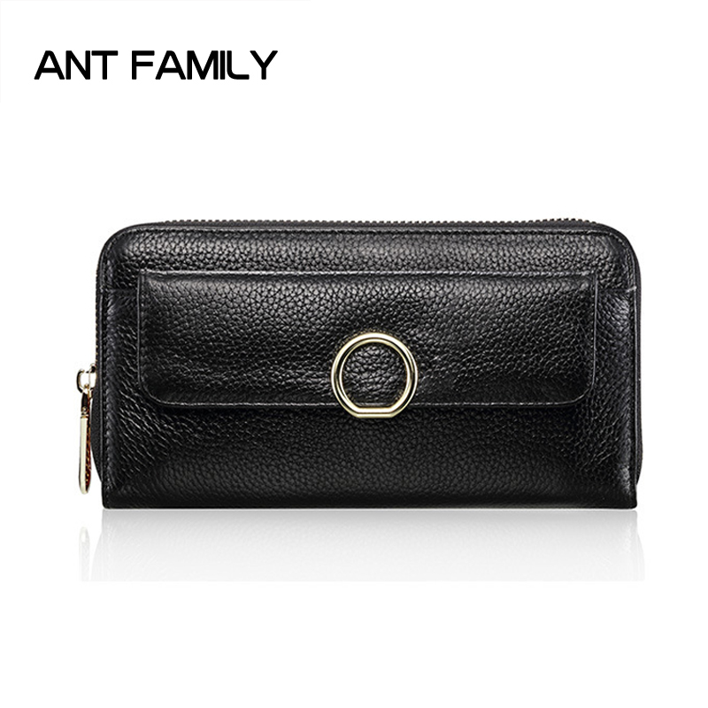 Women Wallets Genuine Leather Wallets Women Luxury Brand Long Zipper Wallet Fashion Female Coin Purse Ladies Leather Wallets genuine leather wallet women luxury brand plaid coin purse female long clutch ladies leather wallets portfel damski portomonee