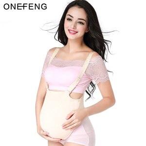 Image 1 - ONEFENG 2000 4600 g/adet silikon bez çanta göbek sahte göbek çapraz Dresser için güzel sahte hamile
