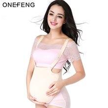 Onefeng 2000 4600 g/pc silicone saco de pano barriga falsa para cruz cômoda bonita para falsa grávida