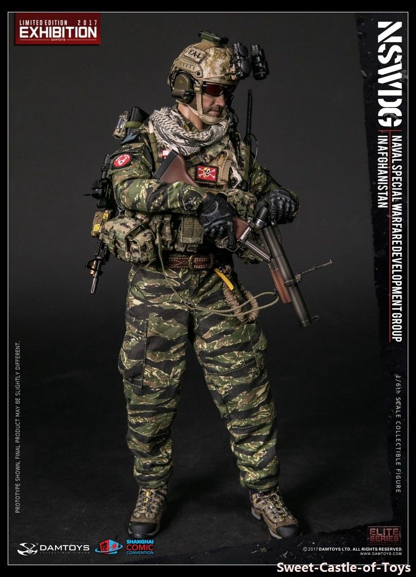 Action Figure DAMTOYS 1//6 NSWDG in Afghanistan 78049 SHCC 2017 Exhibition Ver