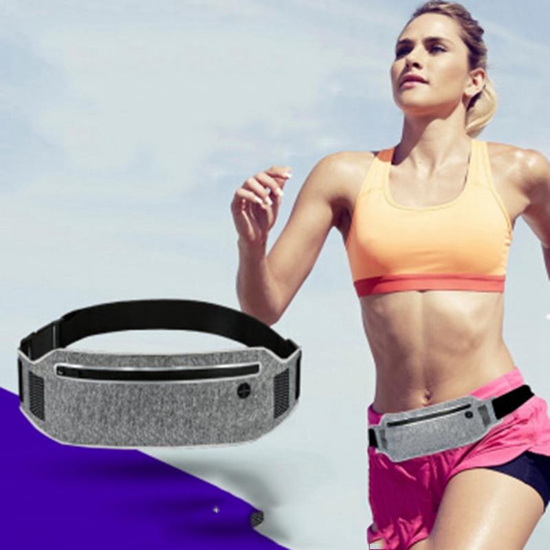Professional Running Waist Pouch Belt Sport Belt Mobile Phone Men Women With Hidden Pouch Gym Bags Running Belt Waist Pack (3)
