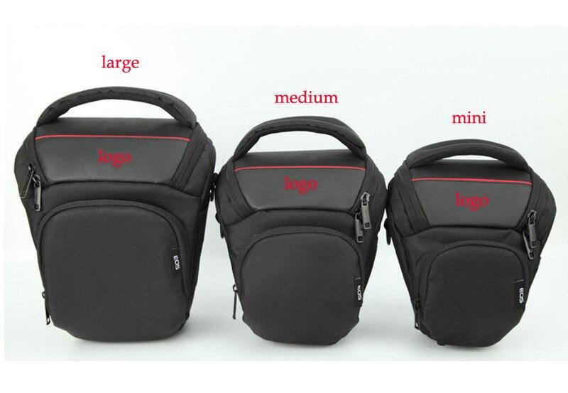 De haute qualité Coréenne Style Antichoc Mode Appareil Photo Numérique Sac Triangle paquet pour Canon 700D 600D 100D 1200D 7D 60D 70D 5D2