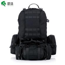 CHENHAO Outdoor Military Bags Waterproof Multifunction Military Backpack 1000D Cordura MOLLE System Camping Travel Hiking Bag