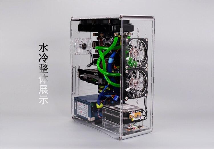 Banco de teste caso do computador chassi