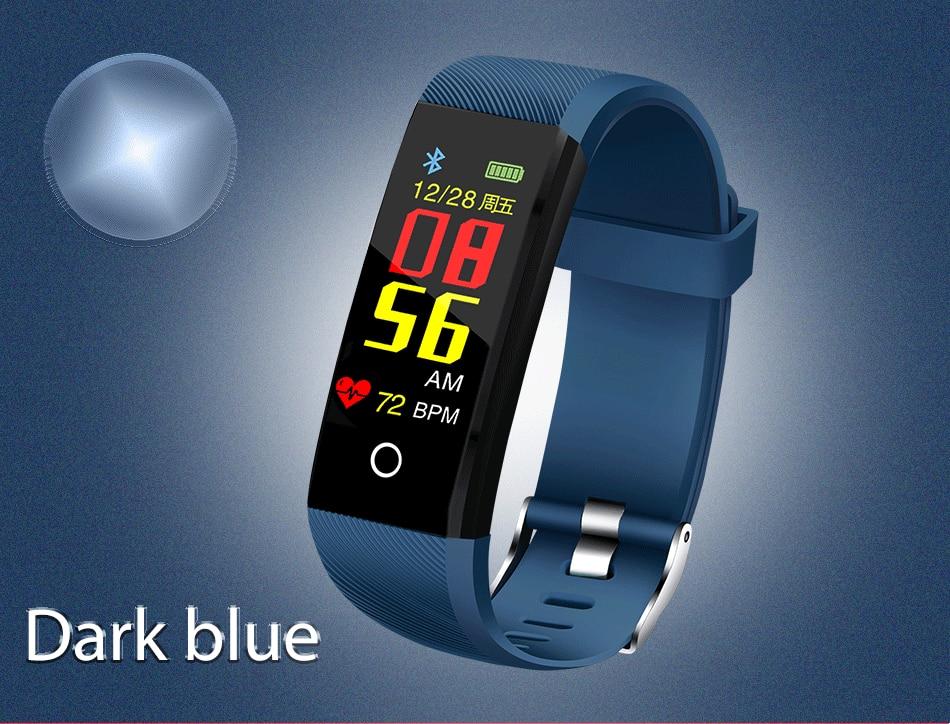 de fitness rastreador pressão arterial monitor freqüência