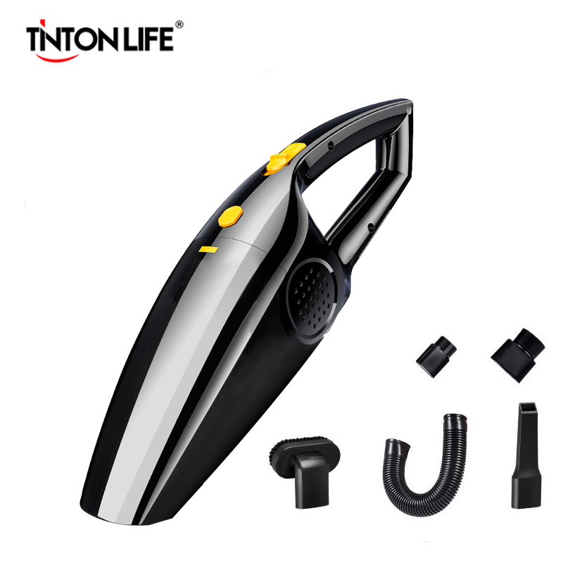 Car Vacuum Cleaner High Power 120W Portable Handheld Vacuum Cleaner Wet And Dry Dual Use Car Vacuum 12V