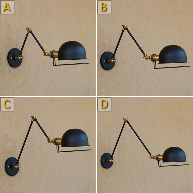 Jielde Designer Retractable France Long Replica Reminisce Mechanical Adjustable Industrial Vintage Lamp Arm Arm Lamp Style Wall Tl13JuF5Kc
