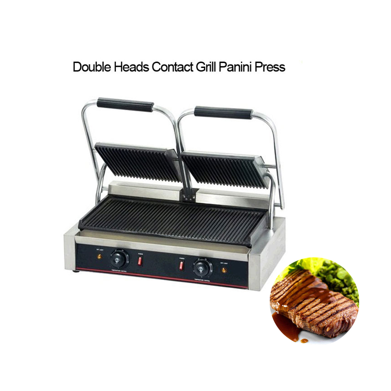 Panini Press Multifunctional Electric Grill Sandwich Burger Makers Commercial Waffle Toaster Breakfast Machine Barbecue Oven цена