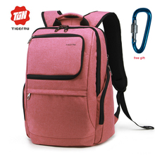 High quality Tigernu backpack shoulder bag for students bookbag masculino femenino Laptop Backpack travel Daypack free