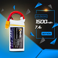 7.4V 1500mAh 2s lipo battery 30C max 35C Xpower batteries XT60 / T plug for RC Helicopter Quadcopter drone part
