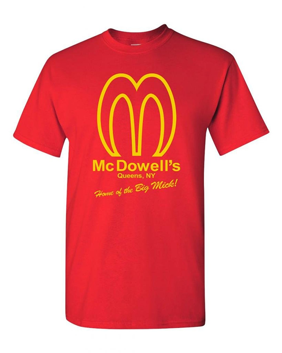 T shirt design queens ny - Mcdowell S Restaurant Queens Ny Funny Parody Adult Dt T Shirt Teefashion T Shirt Men Clothing
