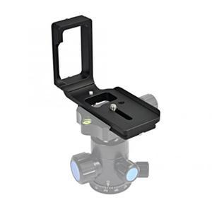 Image 5 - Liberação rápida qr l placa tripé suporte para nikon d750 câmera arca padrão plataforma tripé l suporte alça vertical