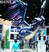 Горячая Распродажа висячие украшения Гигантские Надувные flying Dragon надувной динозавр животных шар для наружных вечерние события