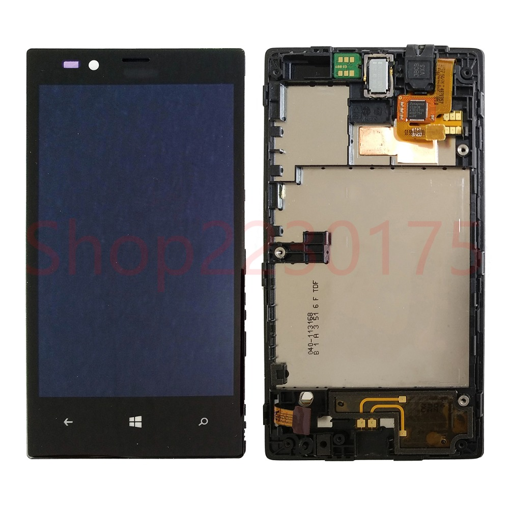 For Nokia Lumia 520 RM-914 LCD Display Touch Screen Digitizer Assembly Frame Replacement Parts
