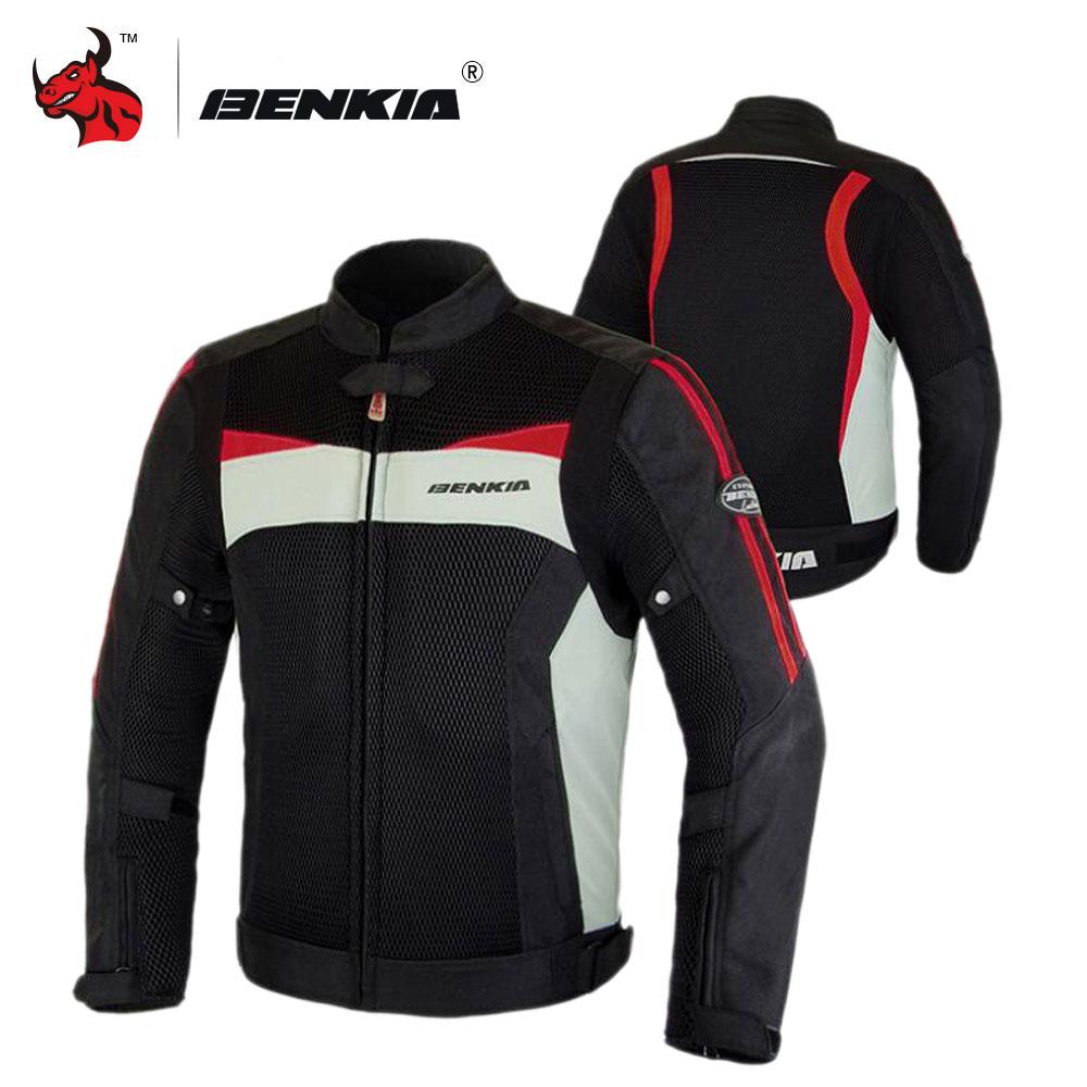 Veste de Moto BENKIA veste de Motocross été veste de Moto en maille respirante équipement de protection hommes veste de Moto armure