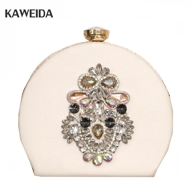 Coquille forme femmes sacs de luxe diamant perlée Sac à bandoulière marque Desinger femmes chaîne sacs en cuir Sac à bandoulière un Sac à Main Femme
