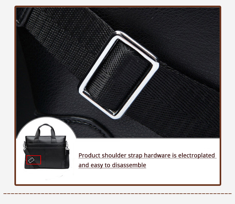 HTB13azld6DpK1RjSZFrq6y78VXac 2020 Men's Business Black Casual Bag pu leather Briefcase men's Tote bags Brown High quality male Business large capacity