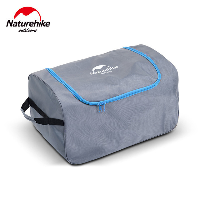 Naturehike 65x40x35cm 1680D PVC Oxford fabric suitcase camping Folding luggage bag Organizer with wheels travel outdoor bags naturehike outdoor travel camping storage bag folding luggage bag organizer with wheels travel kits tent sleeping bag set bag