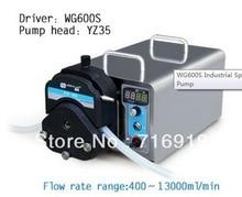 Wg600s yz35 перистальтический насос Глава PPS лаборатории промышленной Электрический Насос Перистальтический делать воды Жидкость Насосы 400 ~ 13000 мл/мин.