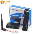 V7 Freesat HD Receptor de Satélite de Apoio Cccam Newcam adicionar 1 Pc USB Wi-fi Apoio Biss Key PowerVu V7 HD Receptor de Satélite DVB-S2