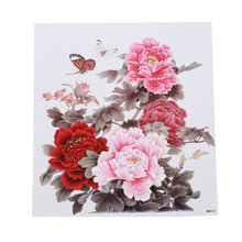 Beautiful Flower Tattoo Sticker Durable Chest Back Sweatproof Waterproof Lady Charm Trend Arm