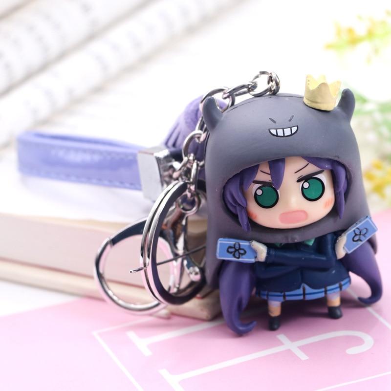 Fashion Jewelry Cartoon Keychain Key Holder Chain Bag Pendant Accessories Keyring Jewelry