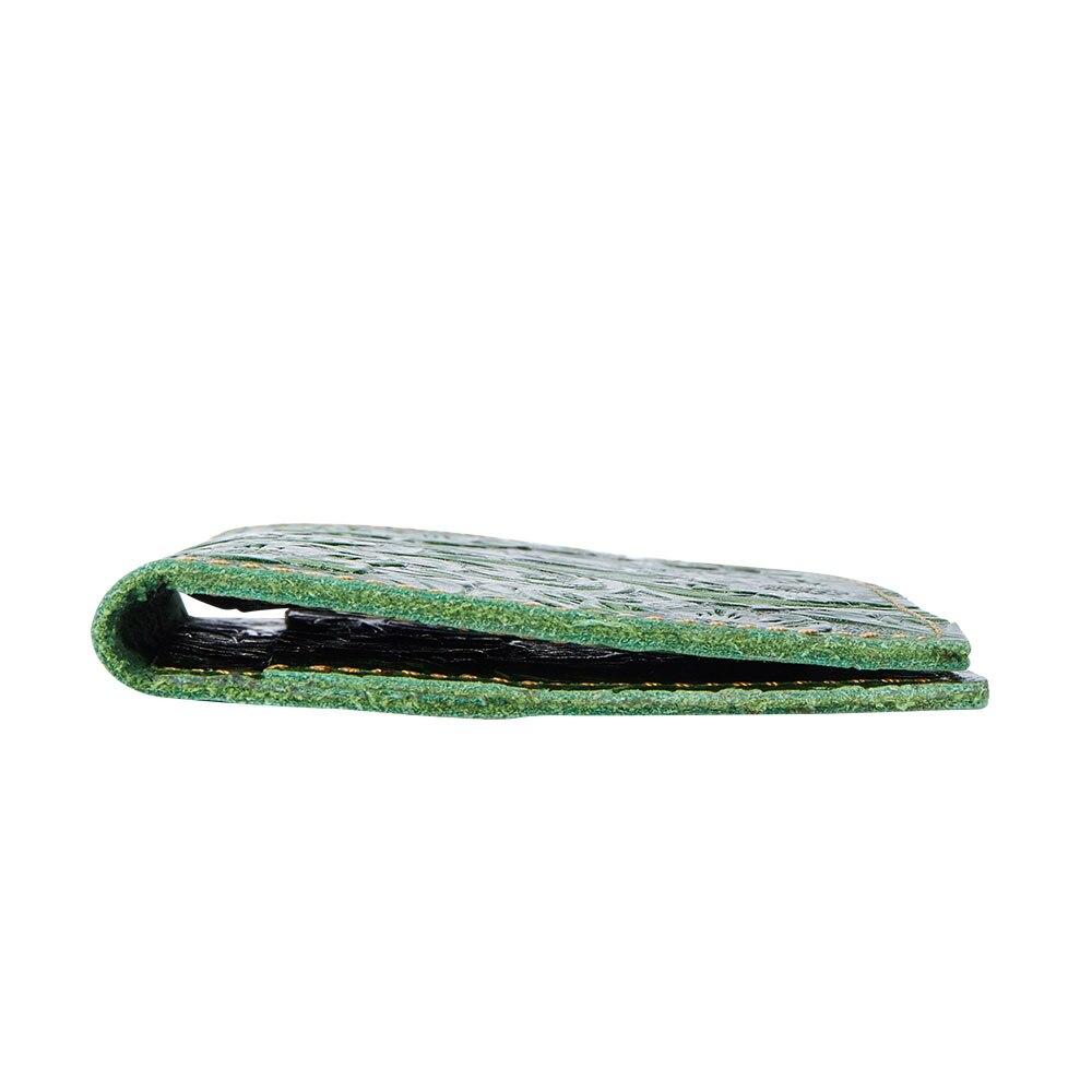 K018-Women Passport Cover Purse-Green-03(7)