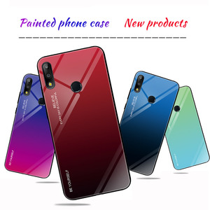 Image 3 - Gradient Tempered Glass Case For Asus Zenfone Max (M2) ZB633KL For Asus Zenfone Max Pro (M2) ZB631KL Max Pro (M1) ZB601KL ZB602K