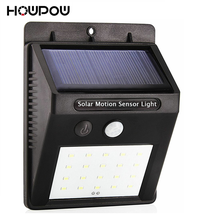 Waterproof 6 10 16 20 LED Solar Light Solar Power PIR Motion