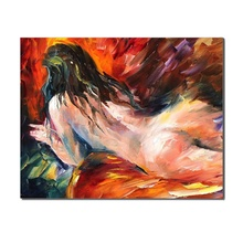 Abstract Nude Graffiti Popular Canvas Prints For Home Store Office Decoration Wall Art For Living Room Bedroom Decor no Frame