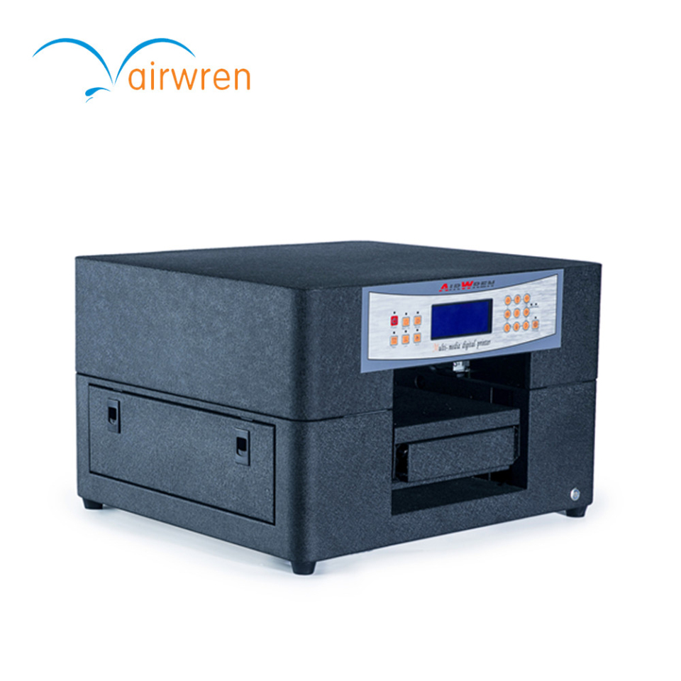 High-end Product Digital Uv Flatbed Printer For Leather Printing Machine A4
