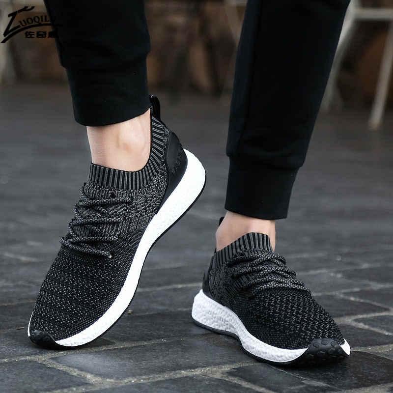 76357becd3 2019 Fashion Shoes Men Casual Men Shoe Breathable Mans footwear Flats For Men  Casual Shoes Big