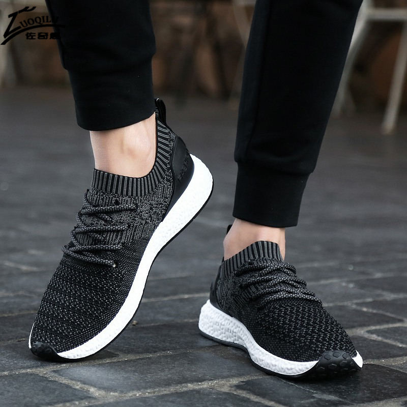 Män Casual Shoes 2018 Sneakers Shoes Sommar Casual Män Shoe - Herrskor