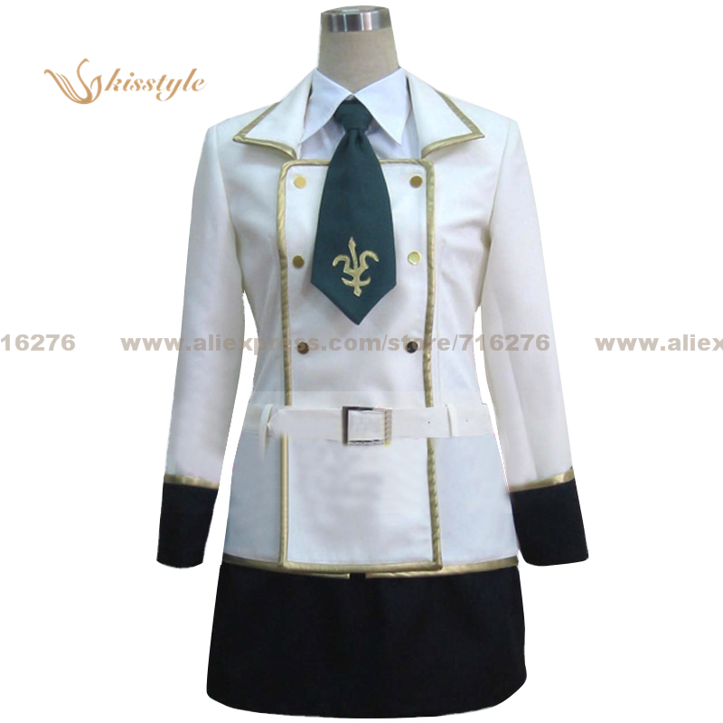 Kisstyle Fashion Code Geass Lelouch Of The Rebellion Girl School Uniform Cos Clothing -9742