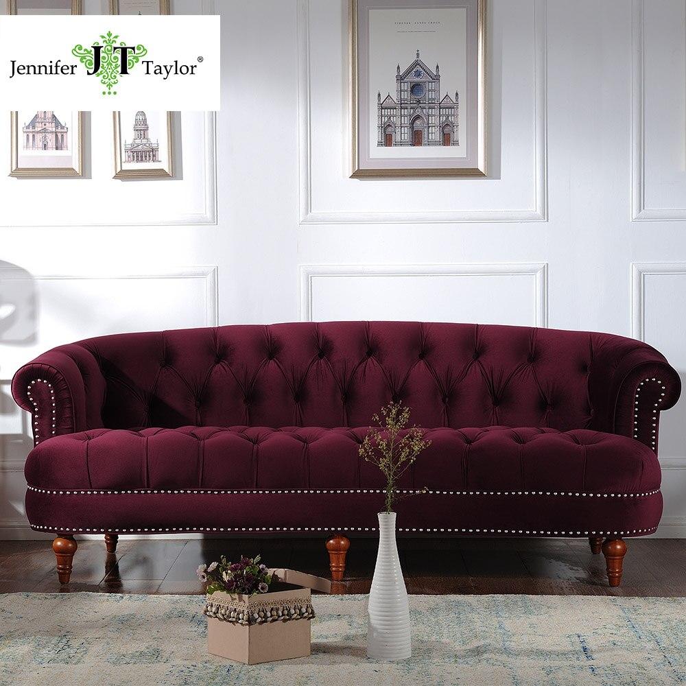 Jennifer Taylor, Living Room Furniture La Rosa Tawny Port Sofa,85W x 40D x 32H jennifer worth parandusmaja varjud