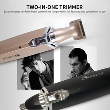 Top Quality 2In1For Men Electric Ear Nose Neck Eyebrow Trimmer Implement Hair Removal Shaver Clipper Razor Machine 1 pcs electric ear nose neck eyebrow trimmer implement hair removal shaver clipper for man and woman hair trimmer remover kit