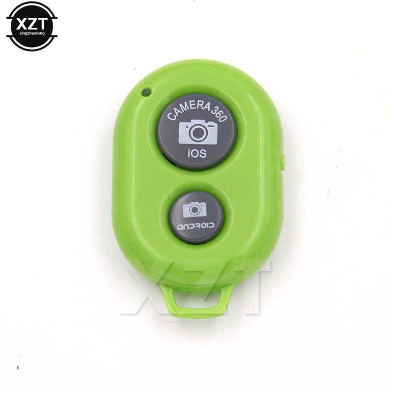 Nirkabel Bluetooth Remote Shutter Kamera Ponsel Monopod Selfie Stick Shutter Self-Timer Timer Remote Control untuk iPhone Android
