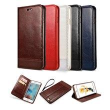 Lovecom кожаный бумажник телефон чехол для Samsung S6 S6Edge S7 S8 плюс Note5 откидная крышка карты Стенд магнитные Coque